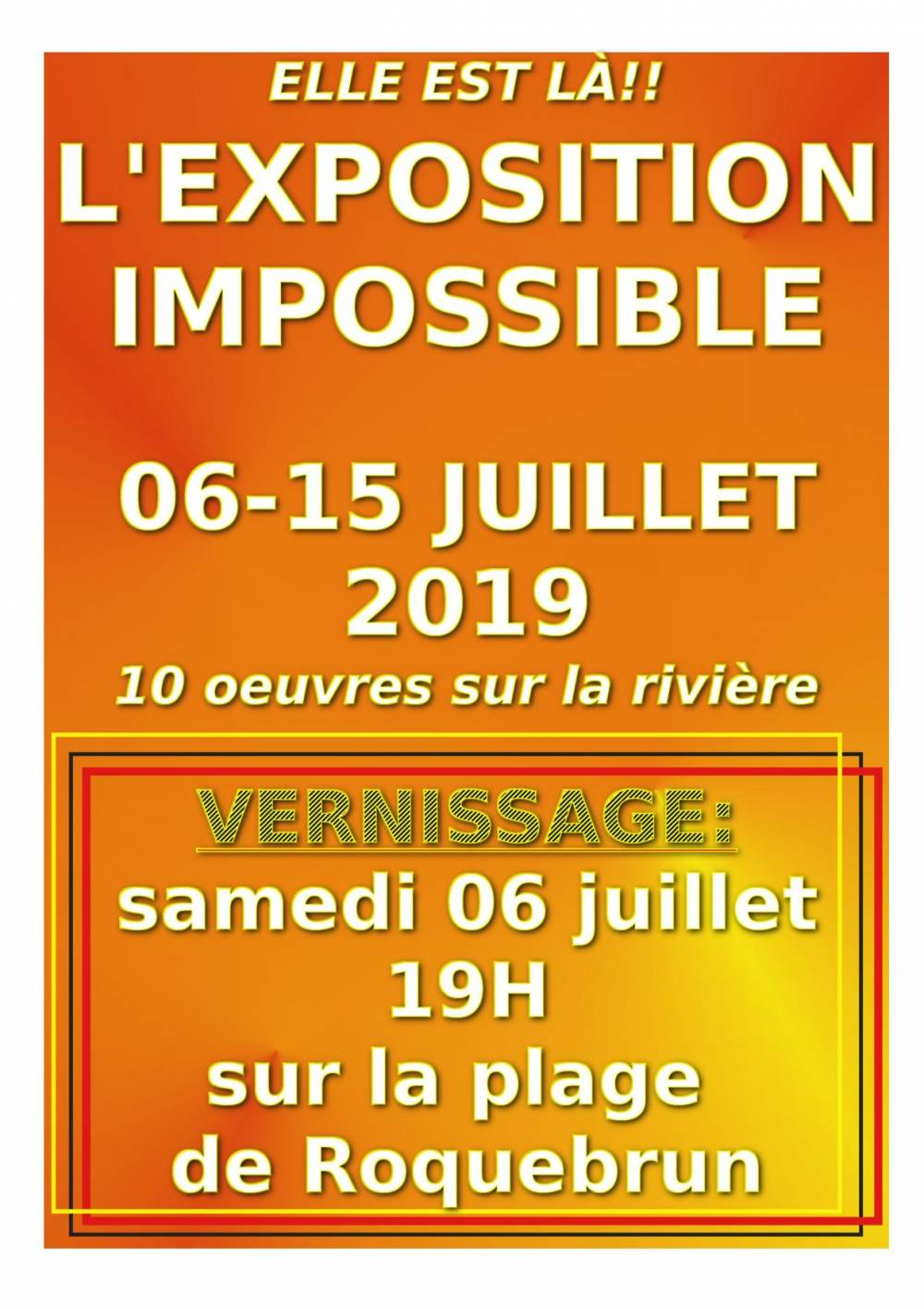 EXPO IMPOSSIBLE VERNISSAGE page 001